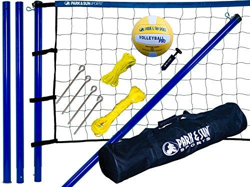 Park-Sun-Spiker-Sport-Steel-Volleyball-Net-Blue-0