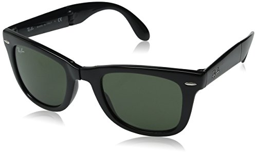 Ray-Ban-RB4105-Folding-Wayfarer-Square-Sunglasses-0