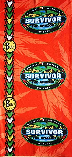 Survivor-Amazon-Complete-Set-of-All-3-Tribe-Buffs-Red-Jacare-Buff-Blue-Tambaqui-Buff-and-Yellow-Fabaru-Buff-as-seen-on-TV-Show-0-0