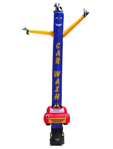 Torero-Inflatables-Air-Dancer-Car-Wash-with-Car-Shape-Tube-Man-Inflatable-15-Feet-0