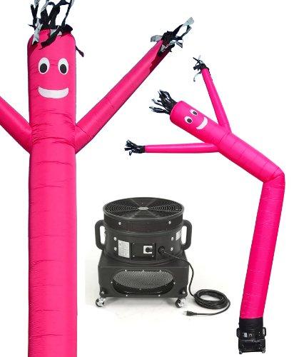 Torero-Inflatables-Air-Dancer-Tube-Man-Tall-Inflatable-Combo-Set-20-Feet-Pink-0