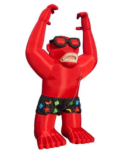 Torero-Inflatables-Giant-Gorilla-Inflatables-with-Harnessing-Red-0-0