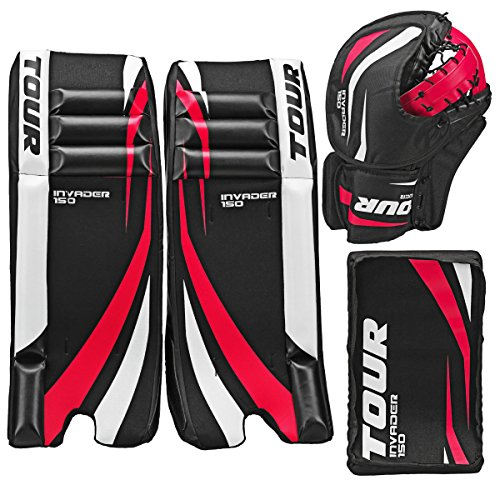 Tour-Hockey-Youth-Invader-150-Hockey-Goalie-Pad-Pack-G105YP-0