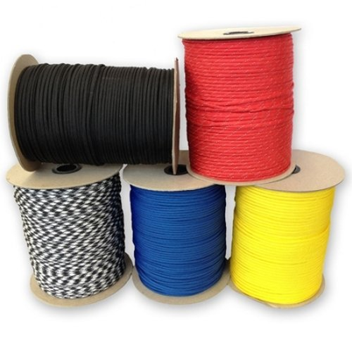 Type-1-95-LB-Tensile-Strength-Paracord-Spools-250-1000-Size-Options-0