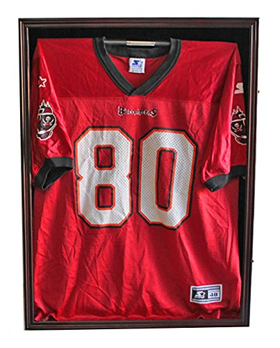 Ultra-Clear-PRO-UV-Basketball-Football-Hockey-Jersey-Frame-Display-Case-LOCKABLE-JC01-MA-0-0