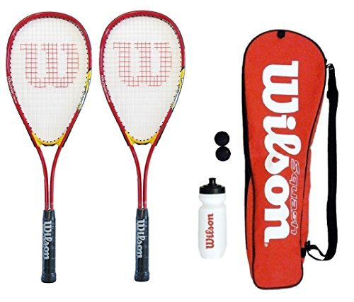Wilson-Hyper-Team-500-Squash-Racket-Set-With-Squash-Balls-Waterbottle-0