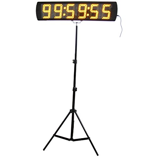 Yellow-Color-Portable-5-Inch-LED-Race-Timing-Clock-for-Running-Events-LED-Countdownup-Timer-0-0