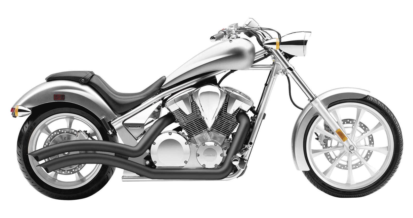 Cobra Speedster Swept Black Exhaust Honda Vt Cx