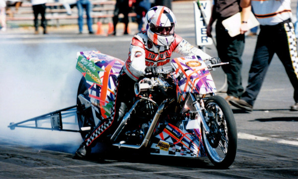 Prior to retiring in 2003, Ray Price set the IHRA nitro-fuel record of 6.36 seconds at 224.21 mph.