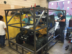 Georgia Southern University students having been working since June to make the Hisun Strike 1000 race ready for the Baja 1000.