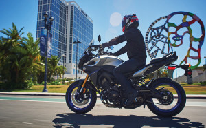 The 2016 FJ-09 has been helped grow interest in Yamaha products in recent months.