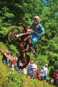 KTM motorcycle sales, helped by the success of MX champ Ryan Dungey, are on a record pace in 2015.