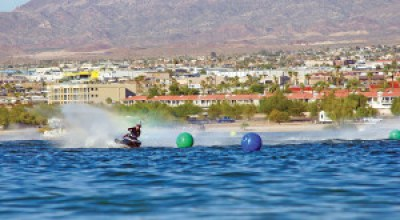 Thailand's Nopphadon Sapmunsaerr claimed the first Sea-Doo Spark world championship by winning the Pro-Am 1000 Superstock title at the IJSBA World Finals in Lake Havasu City, Ariz.