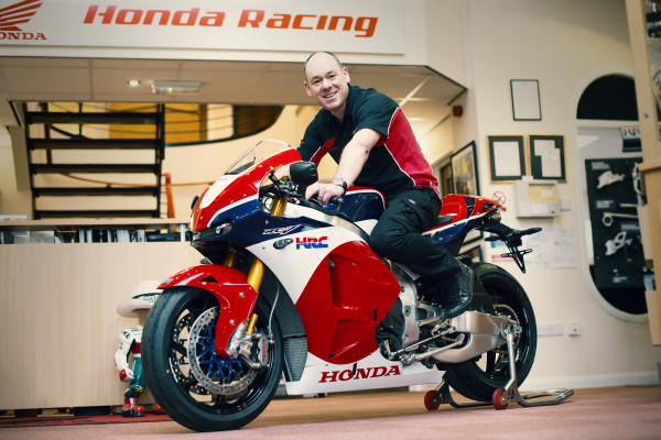 First customer delivery of the Honda RC213V-S