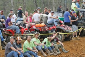 Spectators watch the events at the March 20-24 High Lifter ATV Mud Nationals in Jacksonville, Texas. The off-shoot Quadna Mud Nationals in Minnesota is expected to draw thousands of attendees.