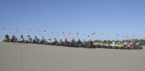 Hosting family reunions aboard ATVs on sand dunes give consumers a way to get away for a weekend.