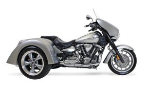 Motor Trike's Galaxy fits the Yamaha Stratoliner family and has a retail price of $8,995.