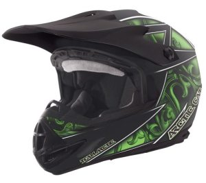 Arctic Cat MX TEAM ARCTIC FLAT HELMET