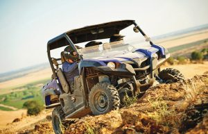The Viking FI 4x4 EPS, starting at $12,599, has become attractive to buyers with its three-seat configuration.