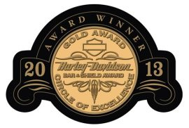 Thunderbird Harley-Davidson, owned by Scott Fischer Enterprises, was award the Gold Bar & Shield Award from the Motor Co.