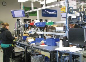 Each Fox assembler is focused on quality and can stop the line at any time a defect is found.