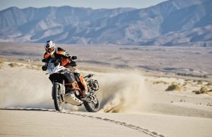 The new 1190 Adventure contributed to KTM's record sales year in 2013.