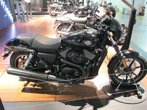 Harley-Davidson began shipping its new Street 750 (above) and 500 models to select markets in Q1.