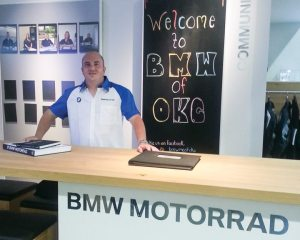 General manager A.C. Spencer heads up the all-new BMW Motorcycles of Oklahoma City with a wealth of industry experience.