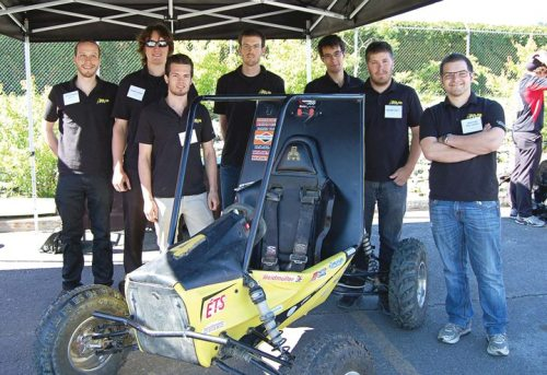 BRP - BRP welcomed Baja SAE, a design competition, in Valcourt