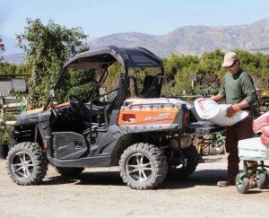 The CFMOTO UForce 800 has found success across the country with orchard owners, ranchers and other agricultural-type buyers.
