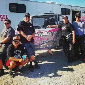 Lacrecia Beurrier's DragonFire/AZ West/Rockstar Racing team took third in the Holz Racing Championship UTV Unlimited ranks.