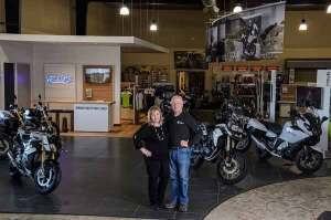 Desert Valley Powersports in Prosser, Wash., owned by Dan and Michelle Denchel, recently added a new  BMW showroom.