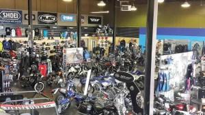 Maverick Motorsports carries Yamaha, Suzuki, Triumph and soon, Zero Motorcycles, in its showroom.