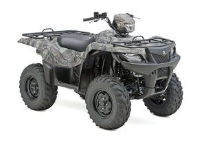 The 2015 KingQuad 750AXi Power Steering in Camo is part of the Rome, Ga., lineup.
