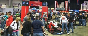 Exhibitors at last year's Big East Powersports Show experienced a large consumer turnout. The event is produced by EPG Media & Specialty Information.