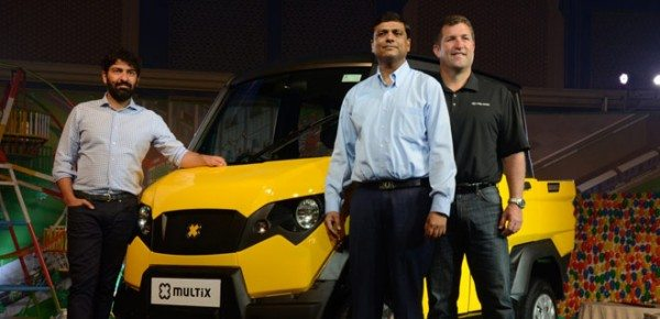 (L-R: Siddhartha Lal, Managing Director & CEO, Eicher Motors; Radhesh C Verma, Chief Executive Officer, Eicher Polaris; and Mike Dougherty, Vice President, Asia Pacific & Latin America, Polaris Industries)