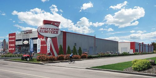 Moto Illimitées hasmoved into a 102,000-square-foot space with a goal to finish the expansion in the spring of 2016.