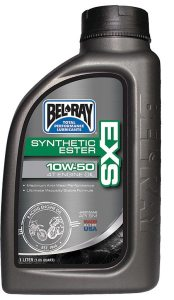 Bel-Ray's new EXS Synthetic Ester 4T Engine Oil has been developed for multi-cylinder touring, sport and racing bikes.