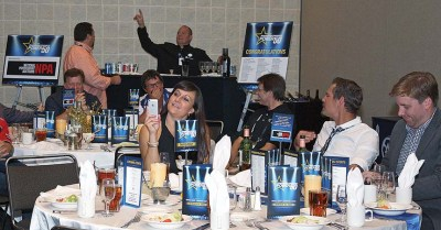 The 2014 Power 50 dinner included several moments that had dealers reaching to take a photo.
