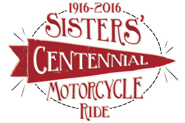 SistersCentennialMotorcycleRideLogo