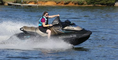 The 2016 GTX Limited 300 is Sea-Doo's only luxury model powered by the new Rotax 1630 ACE engine.