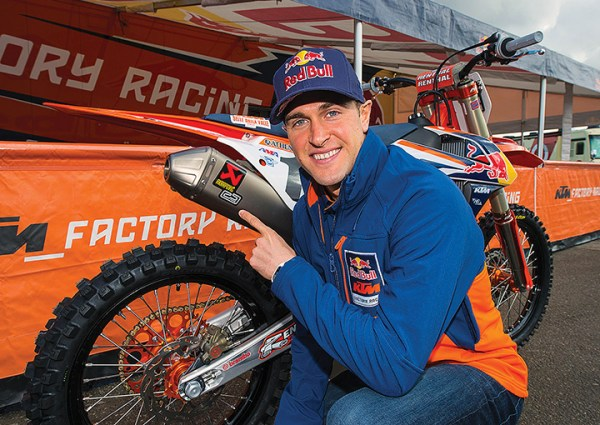 Reigning AMA Supercross champion Ryan Dungey uses Akrapovic exhaust on his KTM.