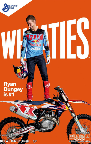 Motocross superstar Ryan Dungey to appear on Wheaties Box (PRNewsFoto/Wheaties)