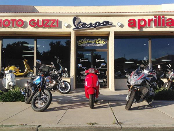 Thousand Oaks Powersports has opened a second location that caters only to Italian brands Moto Guzzi, Vespa, Piaggio and Aprilia.