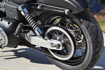 C&S Customs has released its lightweight swingarm for Harley-Davidson Dynas.