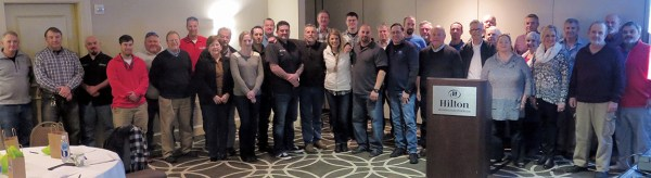The North Carolina Motorcycle Dealers Association had another impressive turnout of dealers at the group's winter meeting in Wilmington, N.C.