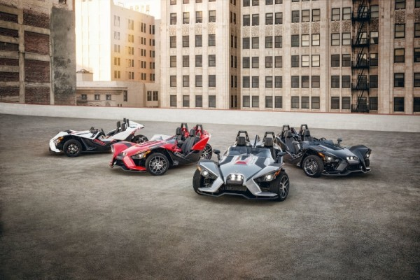 Polaris(R) Unveils New Slingshot(R) 2016 Spring Line-Up (PRNewsFoto/Polaris)