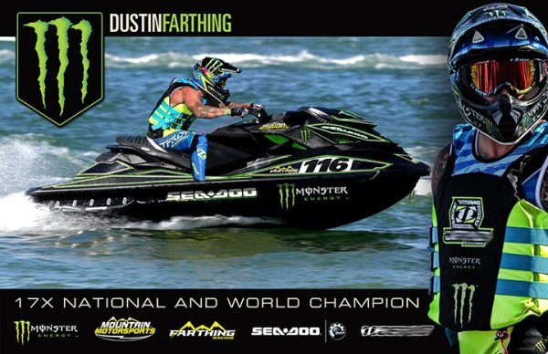 Mountain Motorsports president Dustin Farthing will return to the Sea-Doo X-Team for 2016.