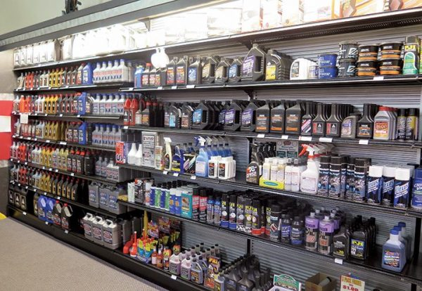 Maxim provides an array of inventory options as a way to draw customers into the store, and keep them coming back.