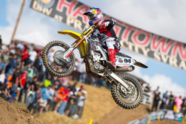 Roczen won at Hangtown for the second time in his career. Photo credit: Simon Cudby